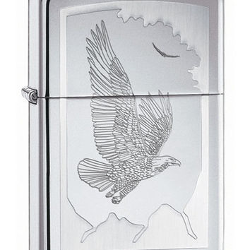 Zippo Birds of Prey High Polish Chrome Lighter