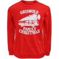 Christmas Vacation - Mens Griswold Family Christmas Sweater