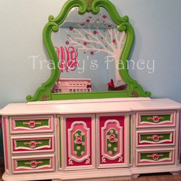 Vintage Dresser w/Mirror - MADE TO ORDER