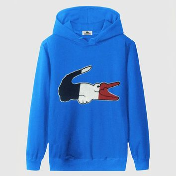 Boys & Men Lacoste Fashion Casual Top Sweater Pullover Hoodie