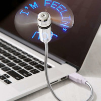 Desktop LED Message Fan | Urban Outfitters