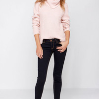 Indigo For It Low Rise Dark Wash Skinny Jeans