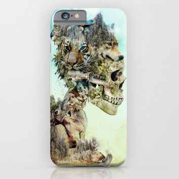 Nature Skull iPhone & iPod Case by RIZA PEKER