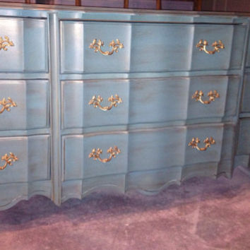 Sold to Marisa--Vintage French Provincial Dresser