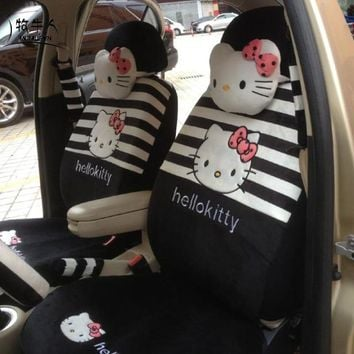 # Best Gift ONSALE# My Melody Car Seat Covers Accessories Set 18PCS 5 Colours