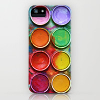 Paint box iPhone & iPod Case by DavinciArt