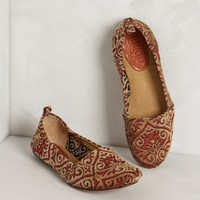 Bette Brocade Loafers