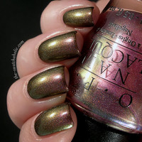 Layering Nail of the day with OPI Movin' Out over BB Couture Glampyre   The Swatchaholic . a blog about nail polish and makeup