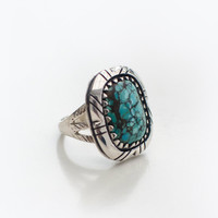 Petite Turquoise Mountain Ring | Spell & the Gypsy Collective