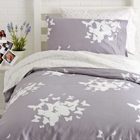 Reversible Twin XL Duvet Cover Set - Believe/Pinwheel