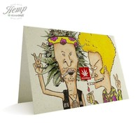 BEAVIS AND BUTTHEAD HEMP CARDS