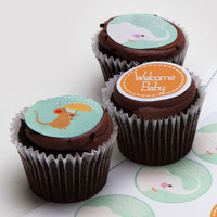 Ticings Welcome Baby Icing Toppers, 15-Count - World Market