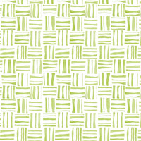 Green Woven Watercolor - heatherdoucette - Spoonflower
