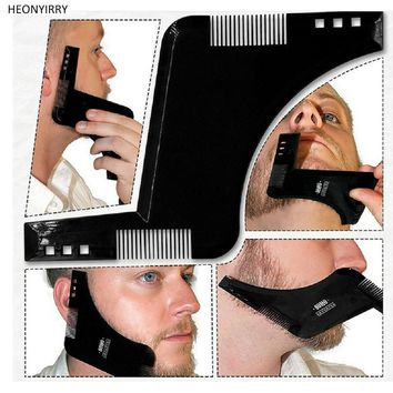 [FREE OFFER DETAILS BELOW!] Beard Shaping and Trimming Tool Double Sided Beard Comb
