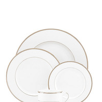 Kate Spade Sugar Pointe Five-Piece Place Setting White ONE