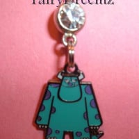 Monsters Inc SCULLY Disney Pixar Belly Navel Ring by FairyDreemz