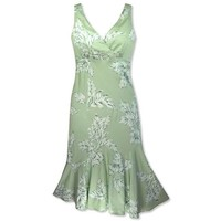 ulu green hawaiian aolani dress