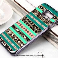 Aztec Hipster Indie Samsung Galaxy S6 and S6 Edge Rubber Case