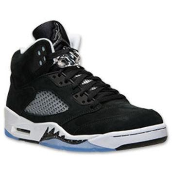 Men's Air Jordan Retro 5 Basketball Shoes