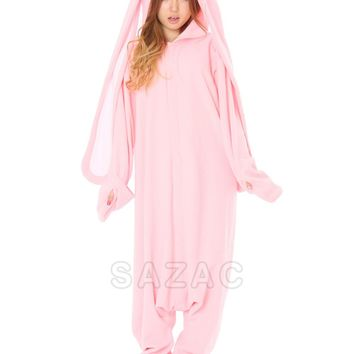 Kigurumi Shop | Hanyo Usagi Pink Kigurumi - Animal Onesuits & Pajamas by Sazac