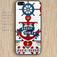 iPhone 6 case dream hello sailor anchor iphone case,ipod case,samsung galaxy case available plastic rubber case waterproof B180