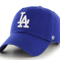 Forty Seven Brand Los Angeles Dodgers Clean Up Hat In Royal
