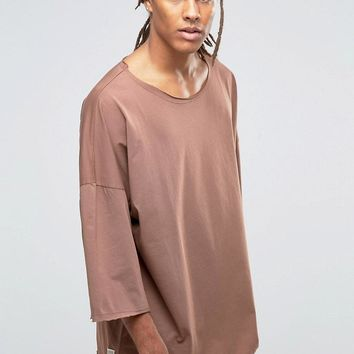 Granted | Granted Oversized T-Shirt With Dropped Shoulders at ASOS