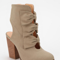 Kimchi Blue Bow Cutout Ankle Boot