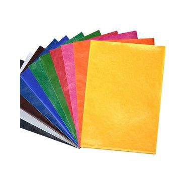 CAN choose ANY COLOR 100pcs/lot tissue paper 50X35CM gift wrapping paper flower packing paper for gift packing material