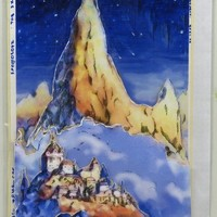 Artists Fantasy Decoupage Card Print with envelope, A6