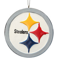 Pittsburgh Steelers Official NFL Resin Logo Ornament