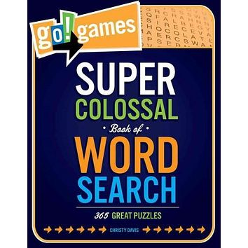 Go!games Super Colossal Book of Word Search: 365 Great Puzzles