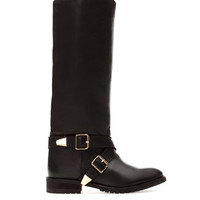 LEATHER BOOTS WITH BUCKLE DETAIL - NEW PRODUCTS - WOMAN -  PULL&BEAR United Kingdom
