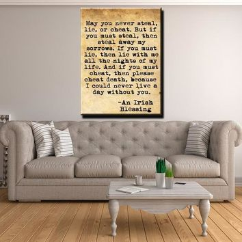 Steal My Sorrows Canvas