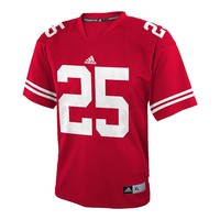 adidas Wisconsin Badgers Replica NCAA Football Jersey - Boys 8-20