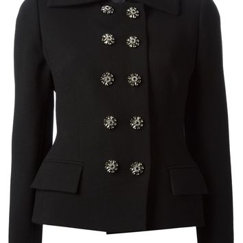 Dolce & Gabbana jewel buttons short coat