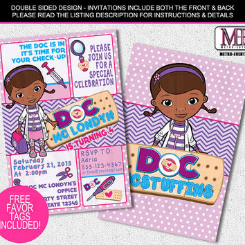Best Doc Mcstuffins Invitations Products on Wanelo