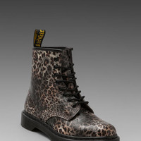 Dr. Martens 1460 8-Eye Boot in Leopard Print from REVOLVEclothing.com