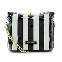 Betsey Johnson Betsey´s Best Stripe Print Cross-Body Bag | Dillards.com