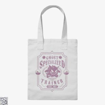 Ghost Specialized Trainer, Pokemon Tote Bag
