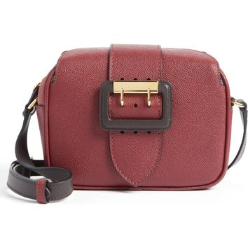 Burberry Small Buckle Leather Camera Crossbody Bag | Nordstrom
