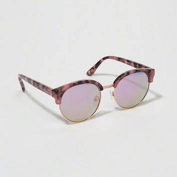 Womens Half-Frame Sunglasses | Womens New Arrivals | Abercrombie.com