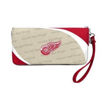 Detroit Red Wings Wallet Curve Organizer Style