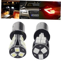1157 BAY15D P21/5W 18SMD CANBUS Error Free Brake Tail Car LED Light Bulb oe9