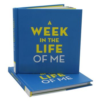 A Week in the Life of Me Hardcover Journal