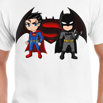 Batman VS Superman DC Comics Dawn of Justice Inspired T-Shirt