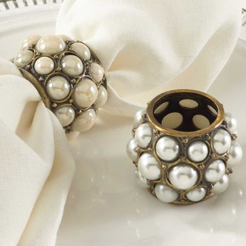 Imperial Pearl Napkin Ring