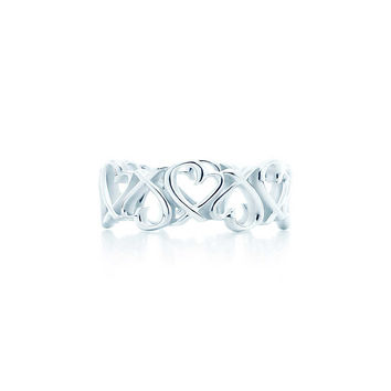 Tiffany & Co. - Paloma Picasso®:Loving Heart Band Ring