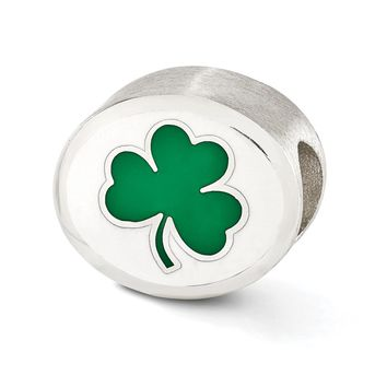 Sterling Silver & Enamel University of Notre Dame Collegiate Charm