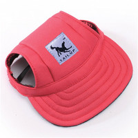 CUTE DOG BASEBALL HAT (Pink)